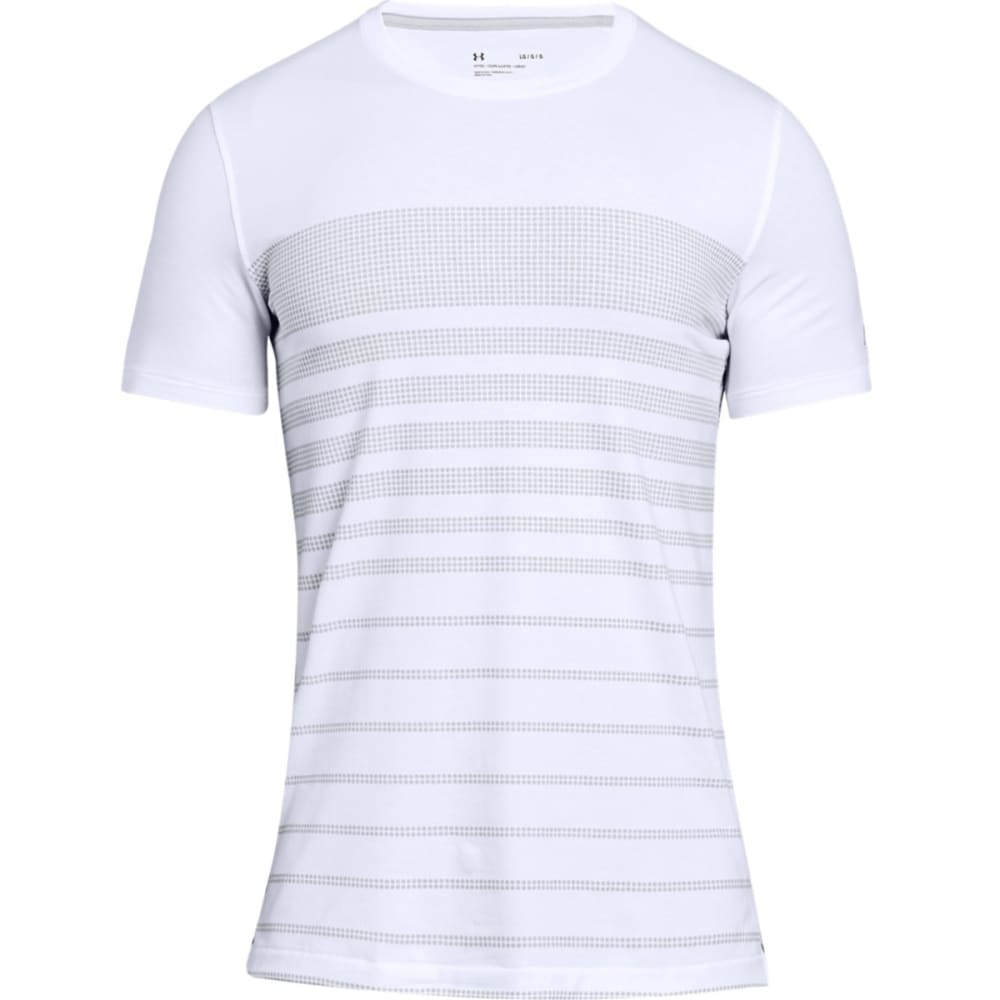 Under Armour Men's Ua Sportstyle Stripe Short-Sleeve Tee - White, XL