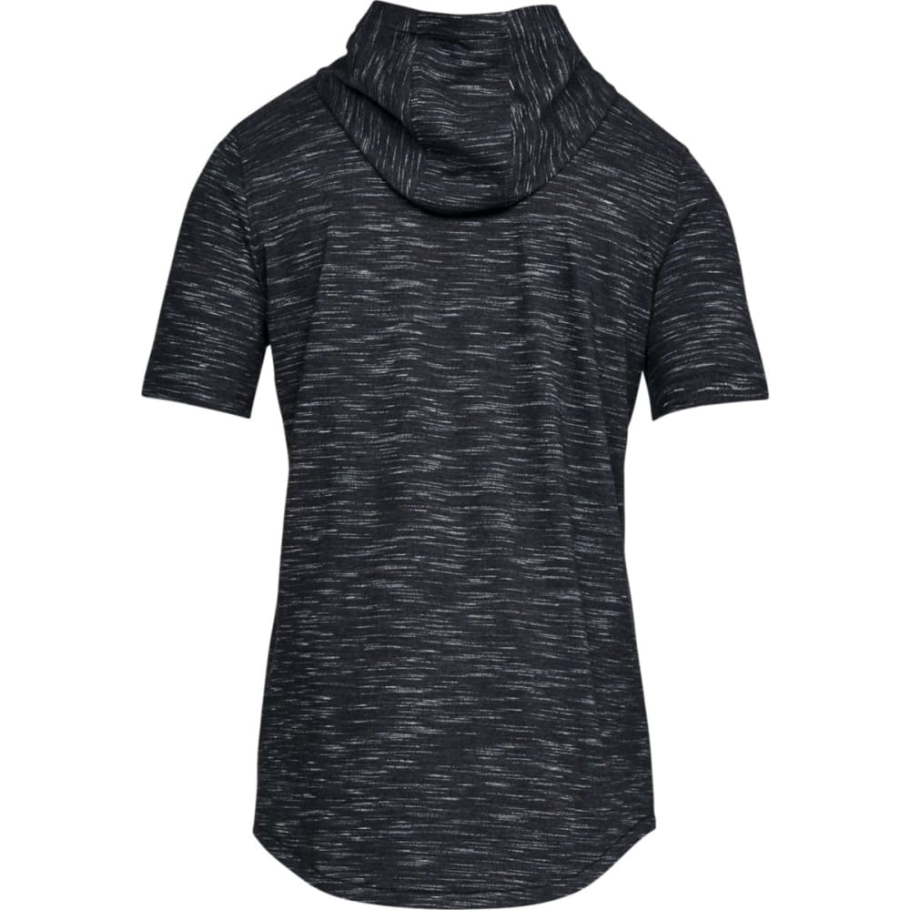 UNDER ARMOUR Men's UA Sportstyle Core Short-Sleeve Pullover Hoodie - BLK-001