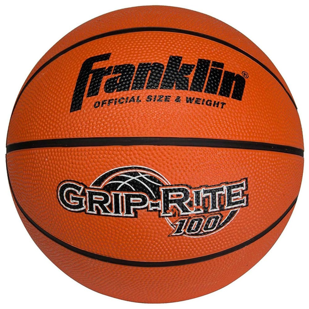 FRANKLIN Grip-Rite 100 Official Size B7 Basketball - NO COLOR