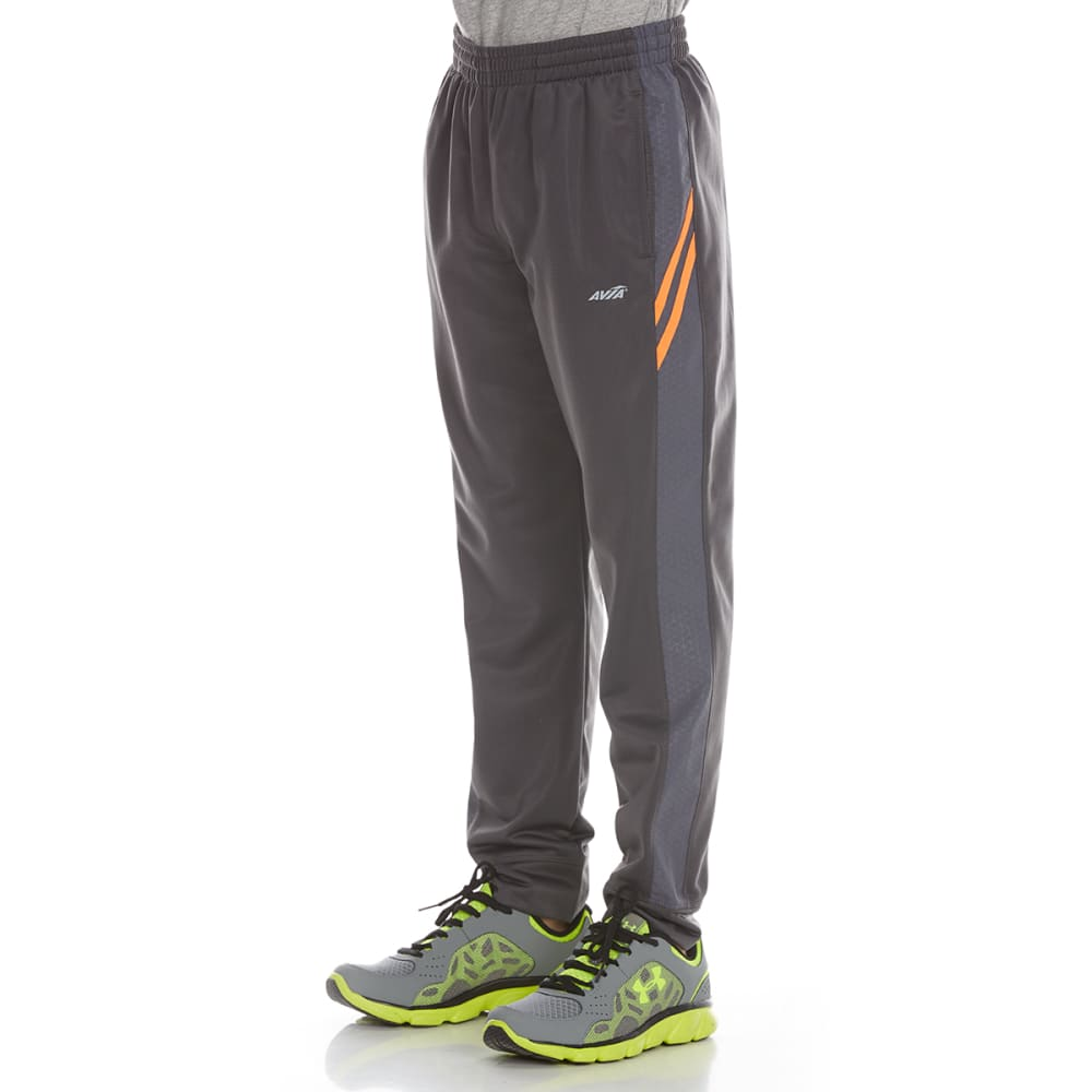 AVIA Boys' Tricot Jogger Pants - DARK GREY/SHOCK