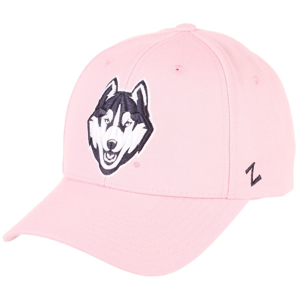 UCONN Women's Competitor Husky Adjustable Cap - PINK