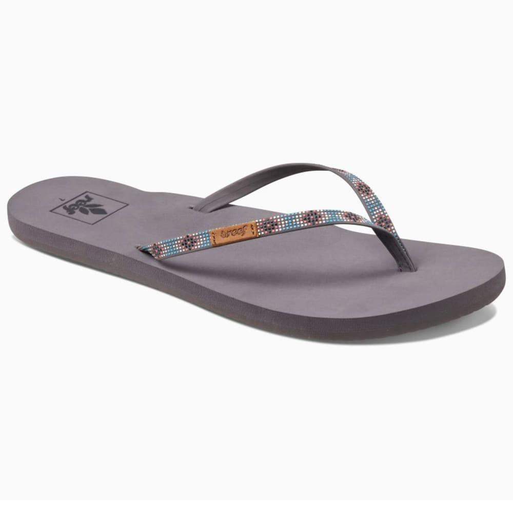 REEF Women's Slim Ginger Beads Sandals - TURQUOISE-TUR