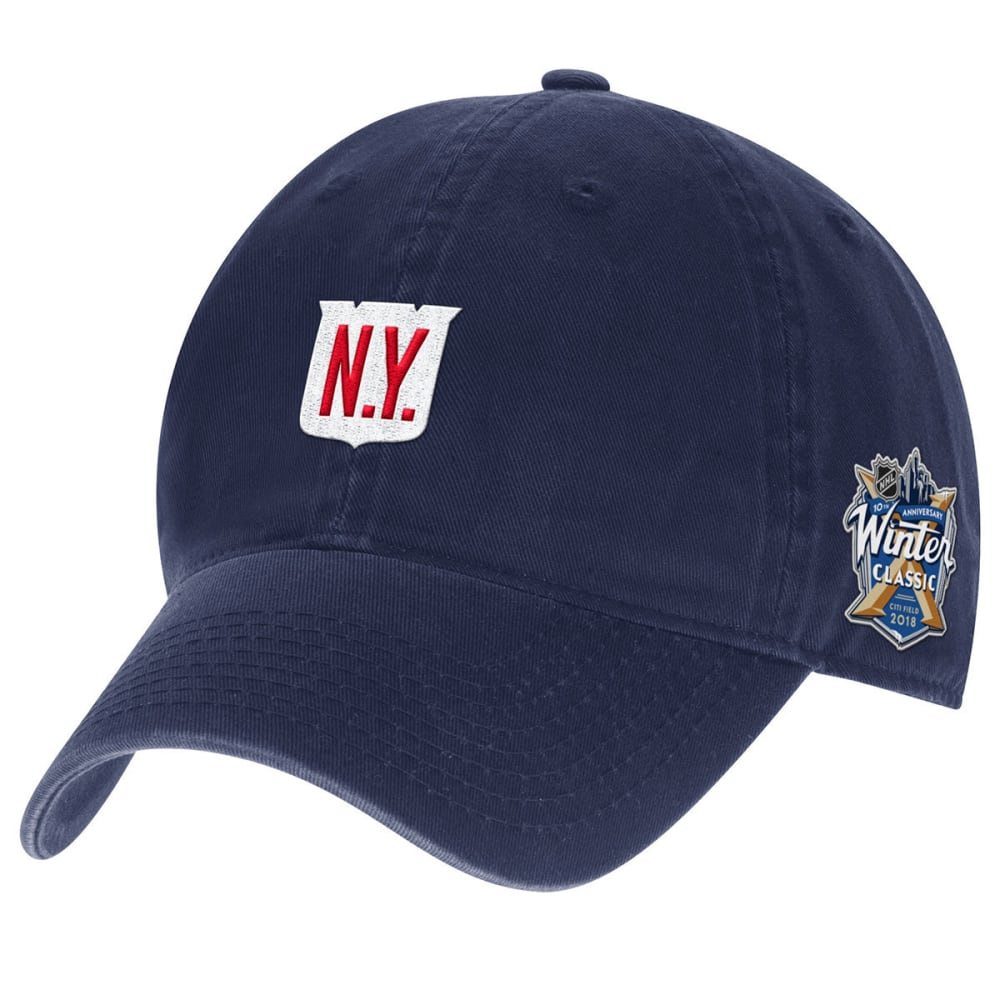 NEW YORK RANGERS Winter Classic 2018 Adjustable Hat - NAVY