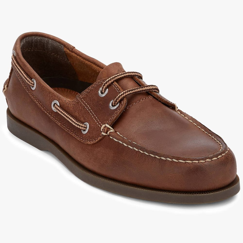 DOCKERS Men's Vargas Boat Shoes, Wide - RUST