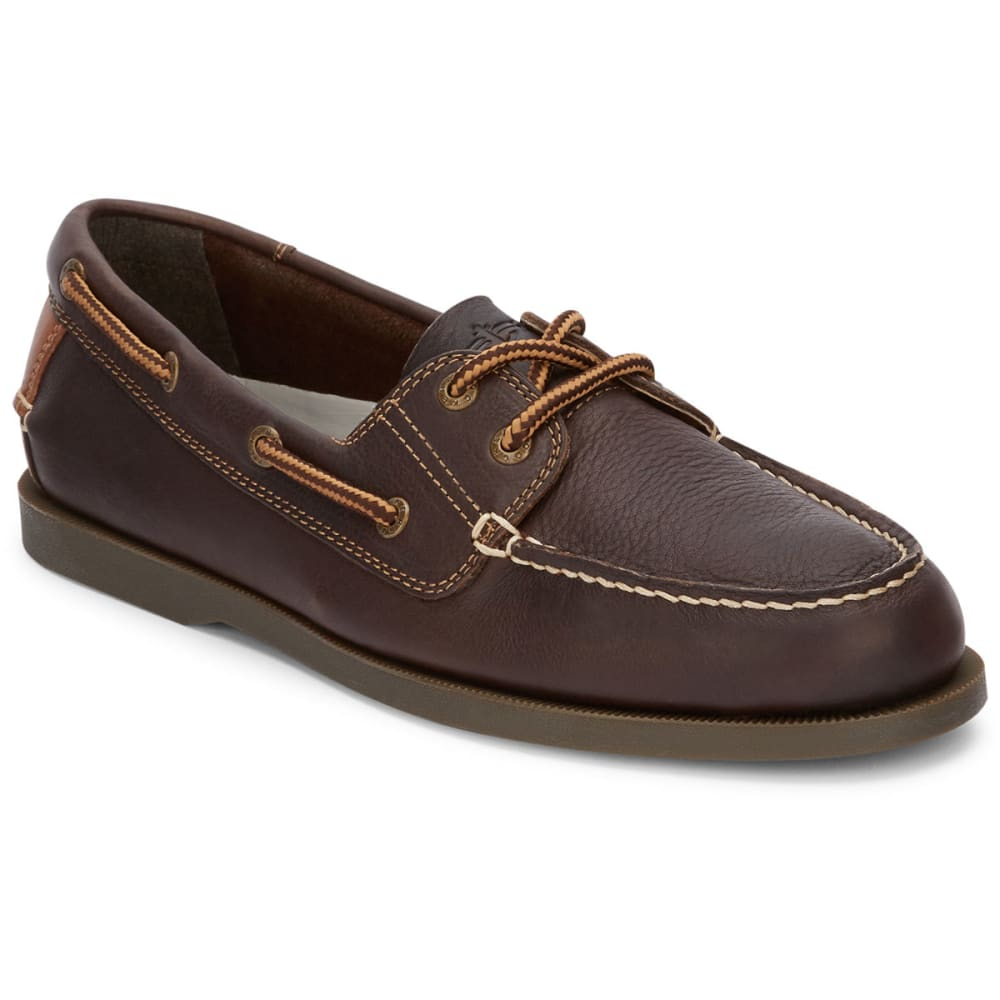 DOCKERS Men's Vargas Boat Shoes - CHOCOLATE