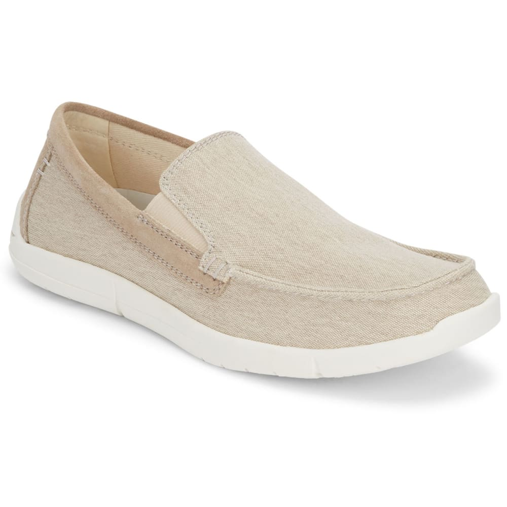 DOCKERS Men's Ashland Casual Slip-On Shoes - OYSTER