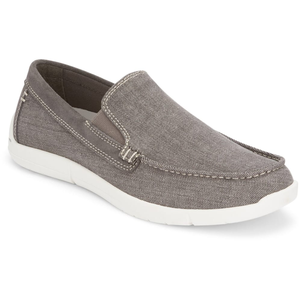 DOCKERS Men's Ashland Casual Slip-On Shoes - GREY