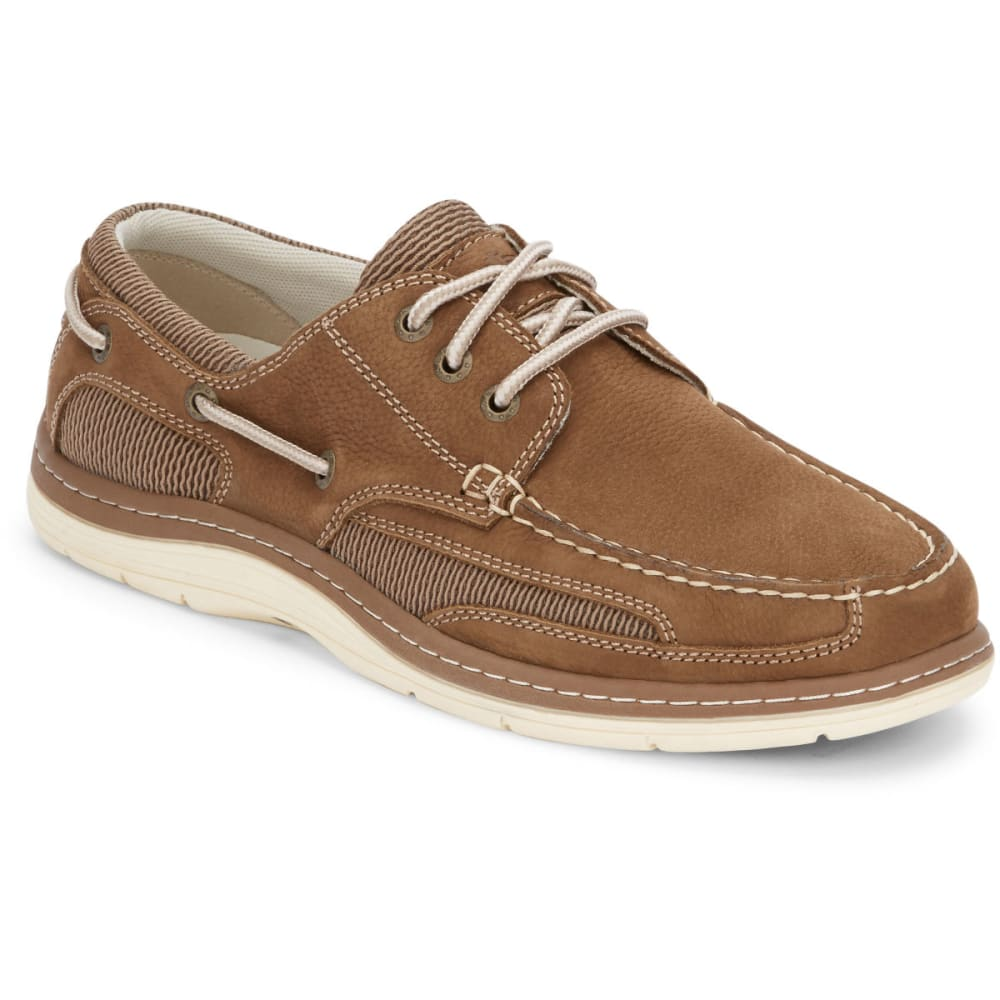 DOCKERS Men's Lakeside Boat Shoes - DARK TAUPE