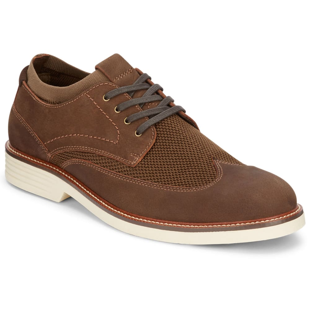 DOCKERS Men's Paigeland Oxford Shoes - DARK BROWN