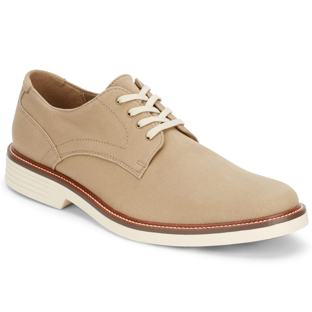 DOCKERS Men's Parkway Plain Toe Oxford Shoes - KHAKI