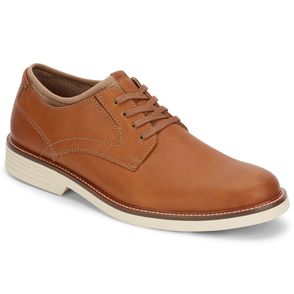 DOCKERS Men's Parnell Oxford Shoes - DARK TAN