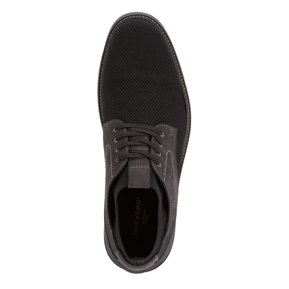 DOCKERS Men's Privett Mesh Lace-Up Oxford Shoes - BLACK