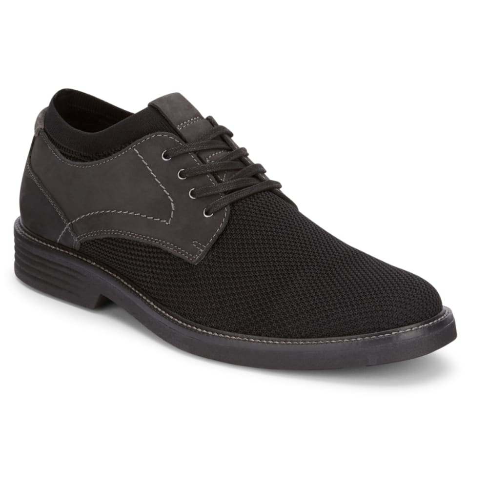DOCKERS Men's Privett Mesh Lace-Up Oxford Shoes - BLACK