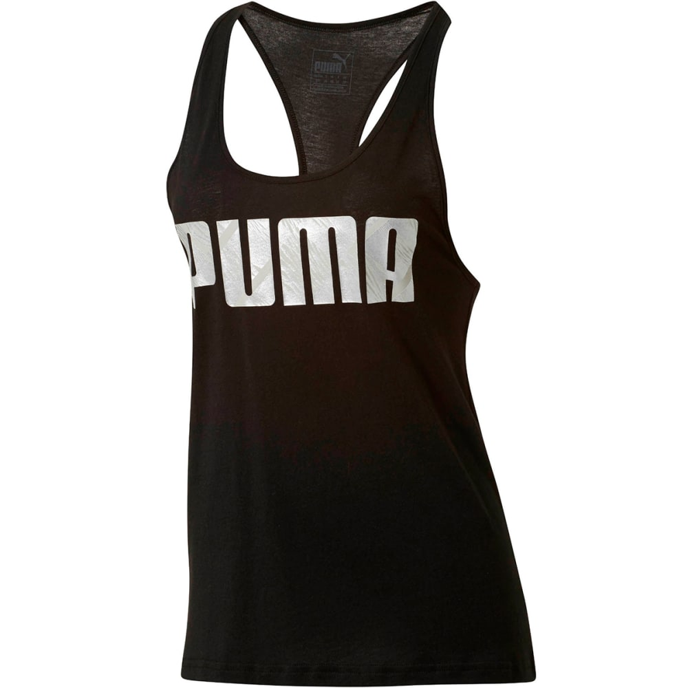 PUMA Women's Summer Tank Top - PUMA BLACK-01