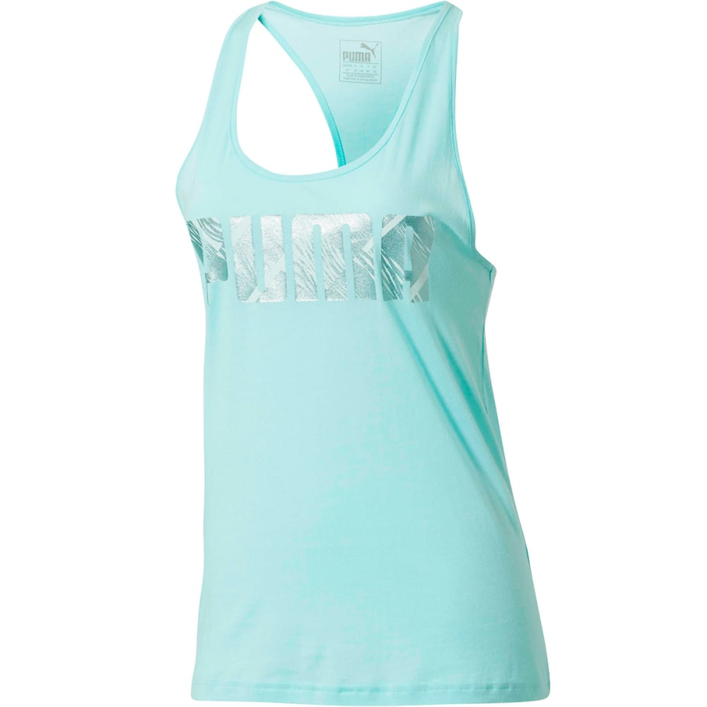 Puma Women's Summer Tank Top - Blue, M
