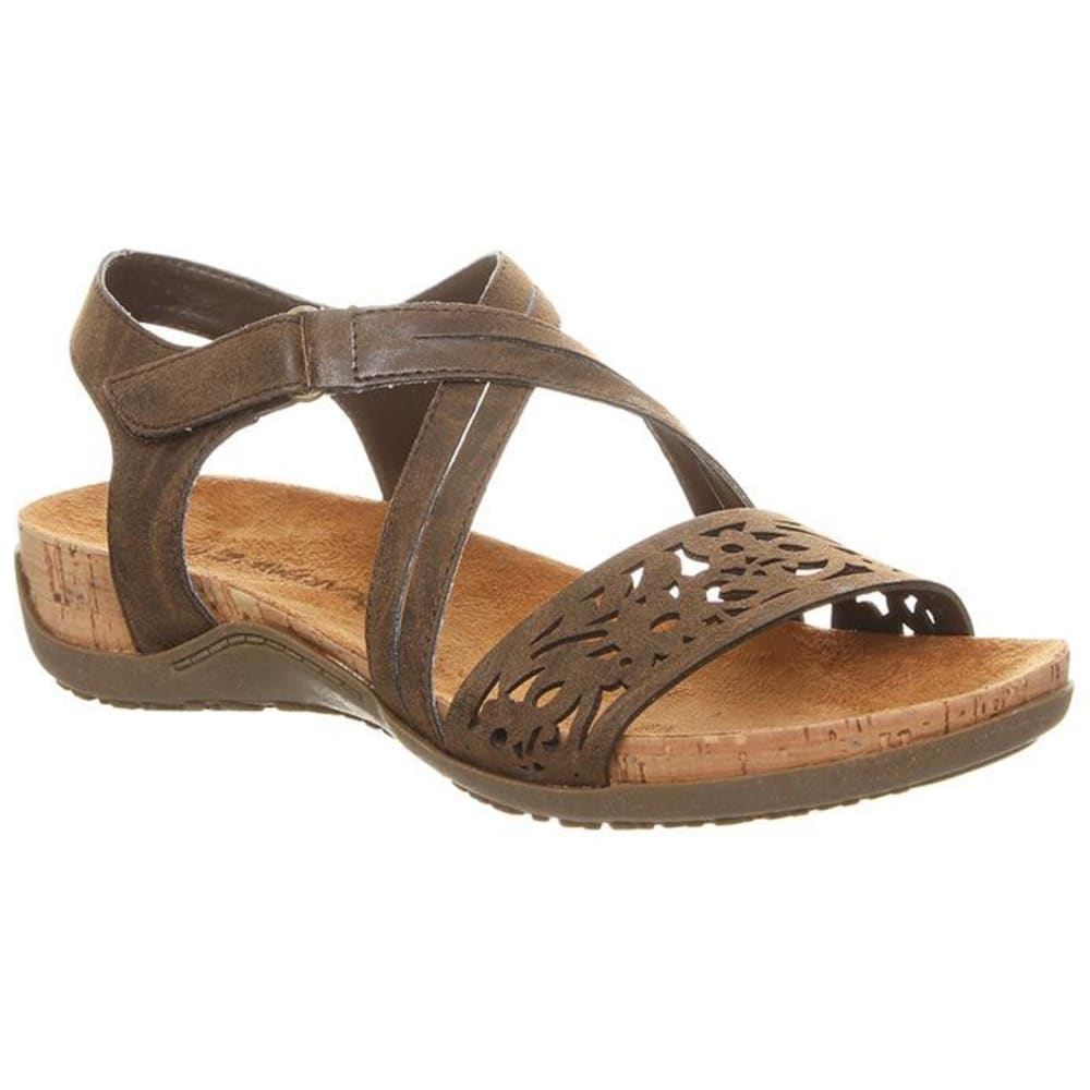 BEARPAW Women's Glenda Sandals - DK BROWN-209