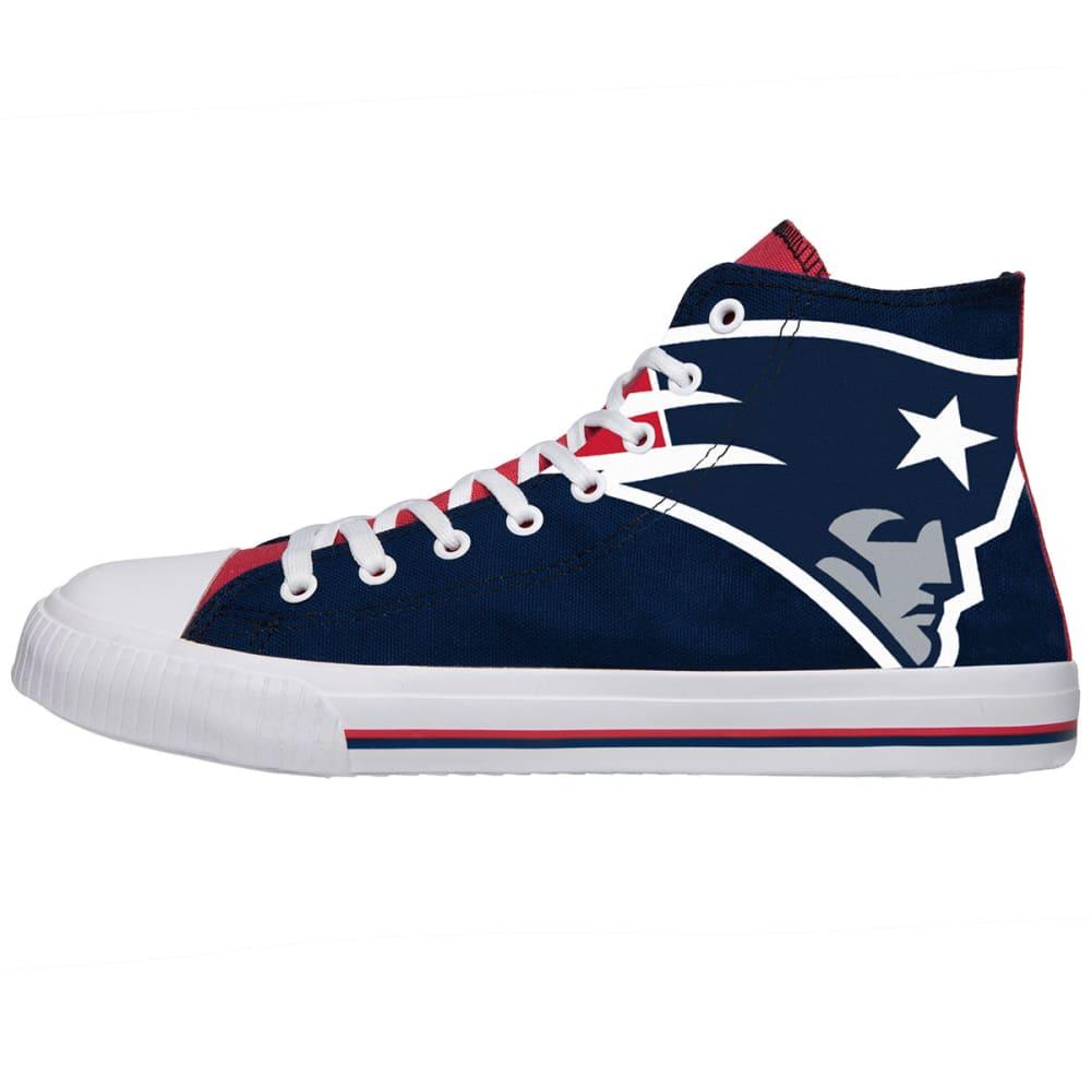 New England Patriots NFL Womens Glitter Low Top Canvas Shoes |New England Patriots Crib Shoes