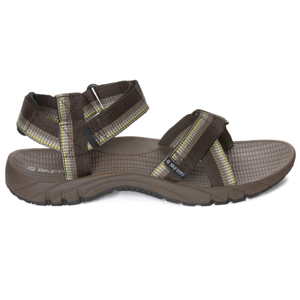 RAFTERS Men's Horizon Sport Sandals - BROWN MULTI-249