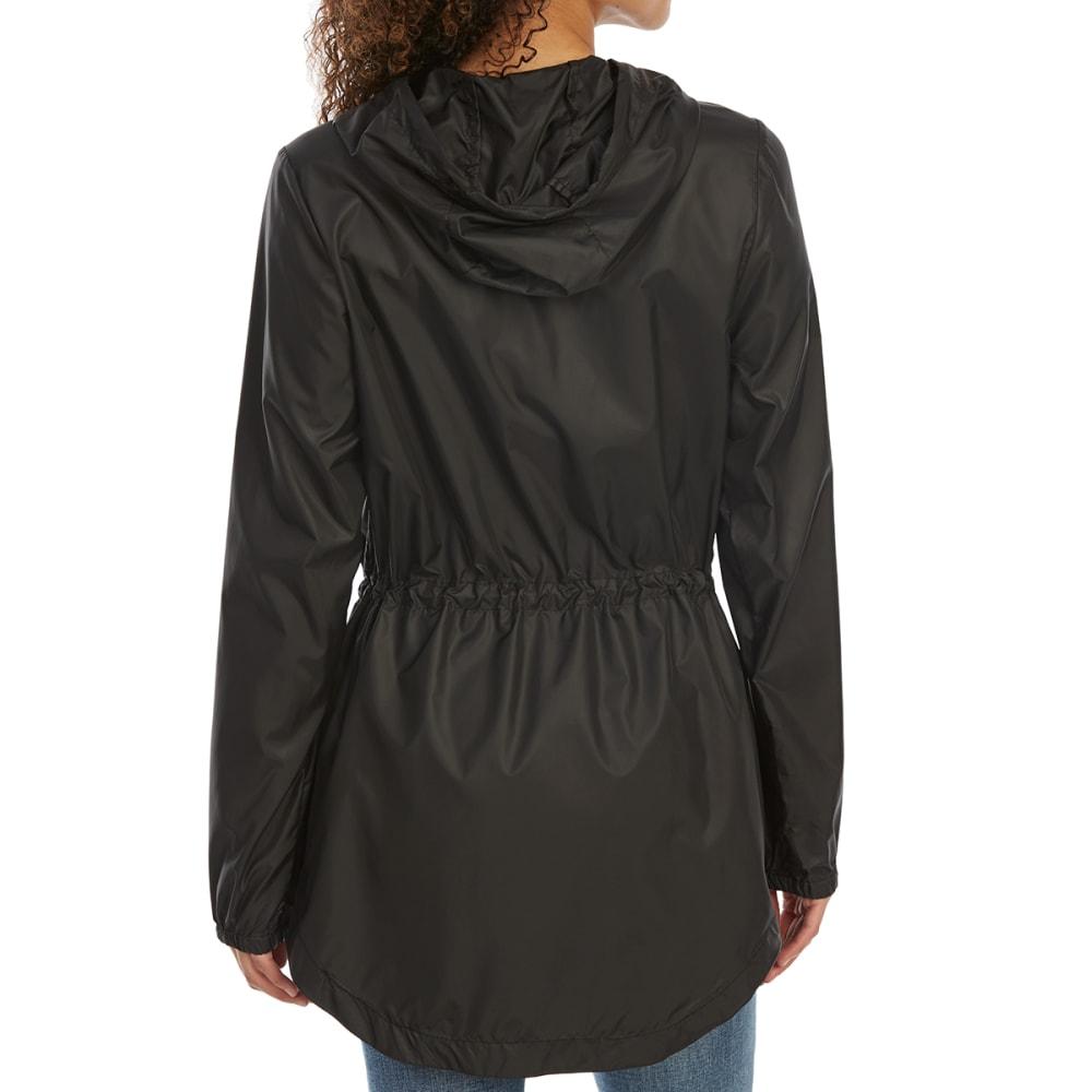 NEW BALANCE Women's Poly Cire Anorak Jacket - BLACK