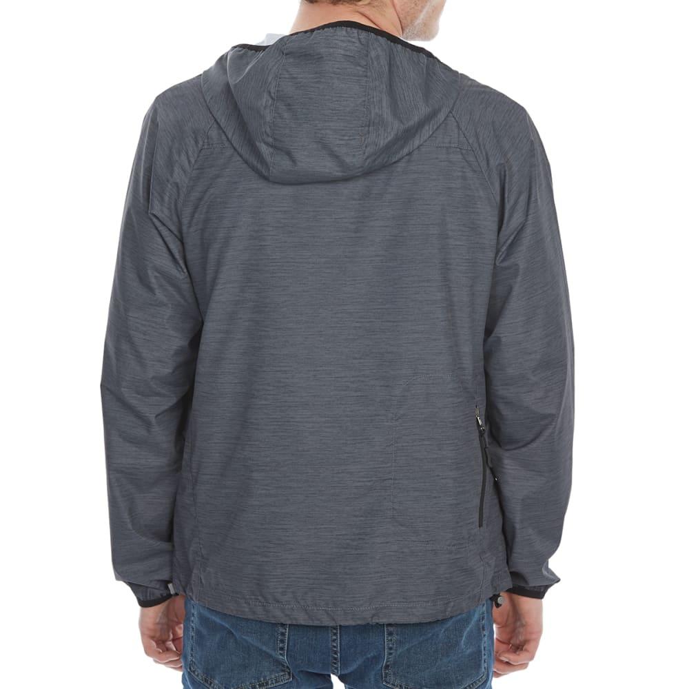 NEW BALANCE Men's Poly Cire Color-Block Packable Hoodie - PT150
