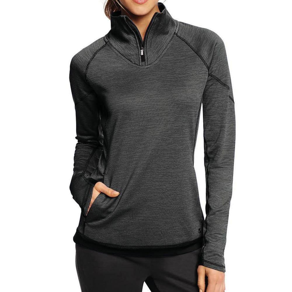 CHAMPION Women's Tech Fleece Duofold Warm ¼-Zip Pullover - GRANITE-NI9