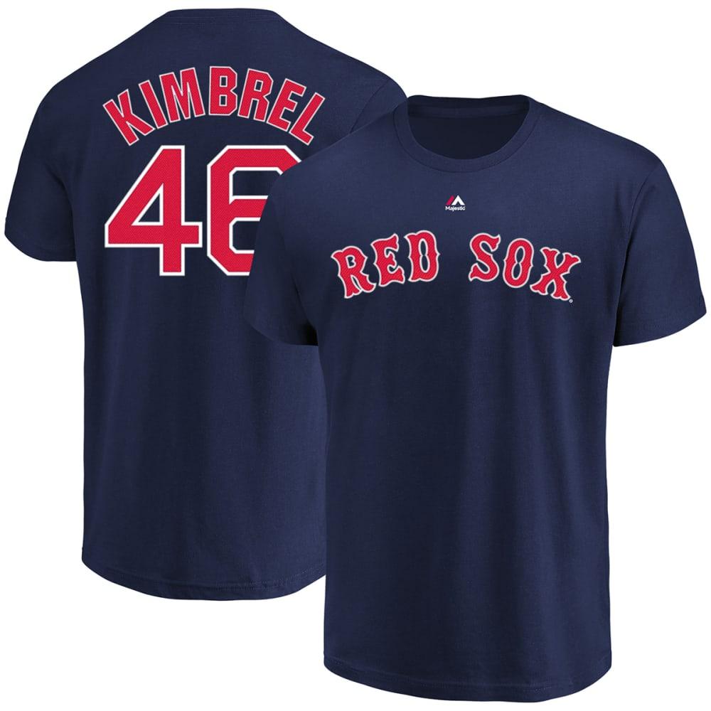 BOSTON RED SOX Men's Craig Kimbrel #46 Name and Number Short-Sleeve Tee - NAVY