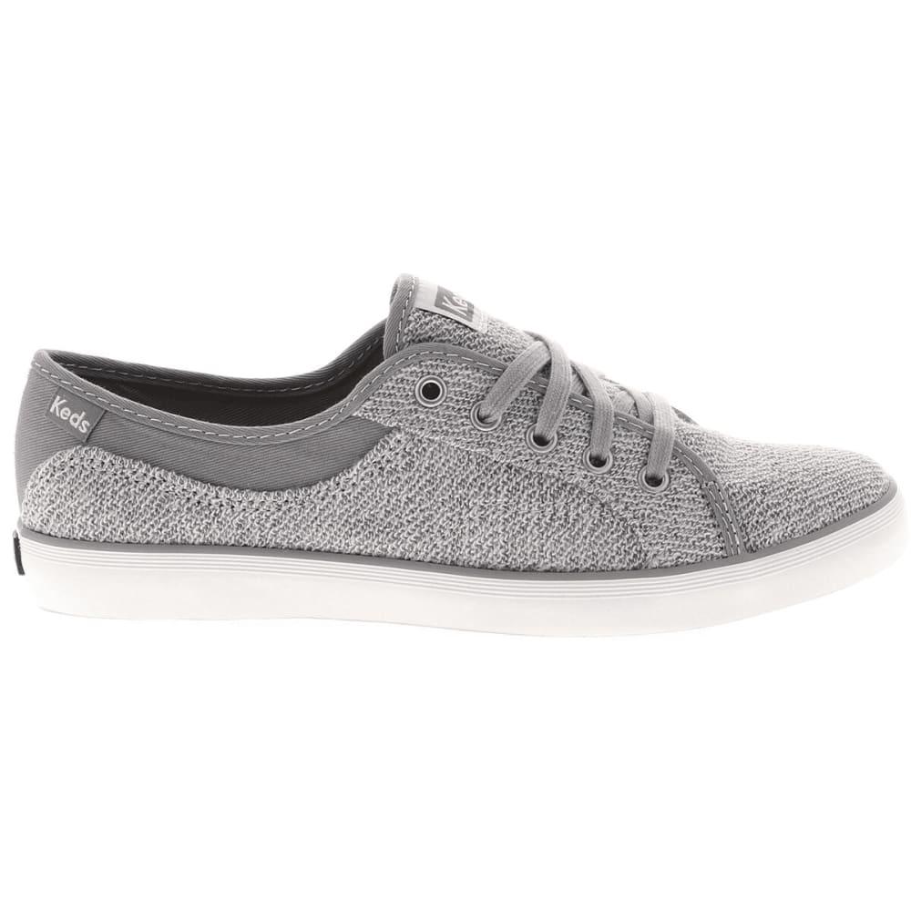 KEDS Women's Coursa Sweatshirt Sneakers - LIGHT GREY