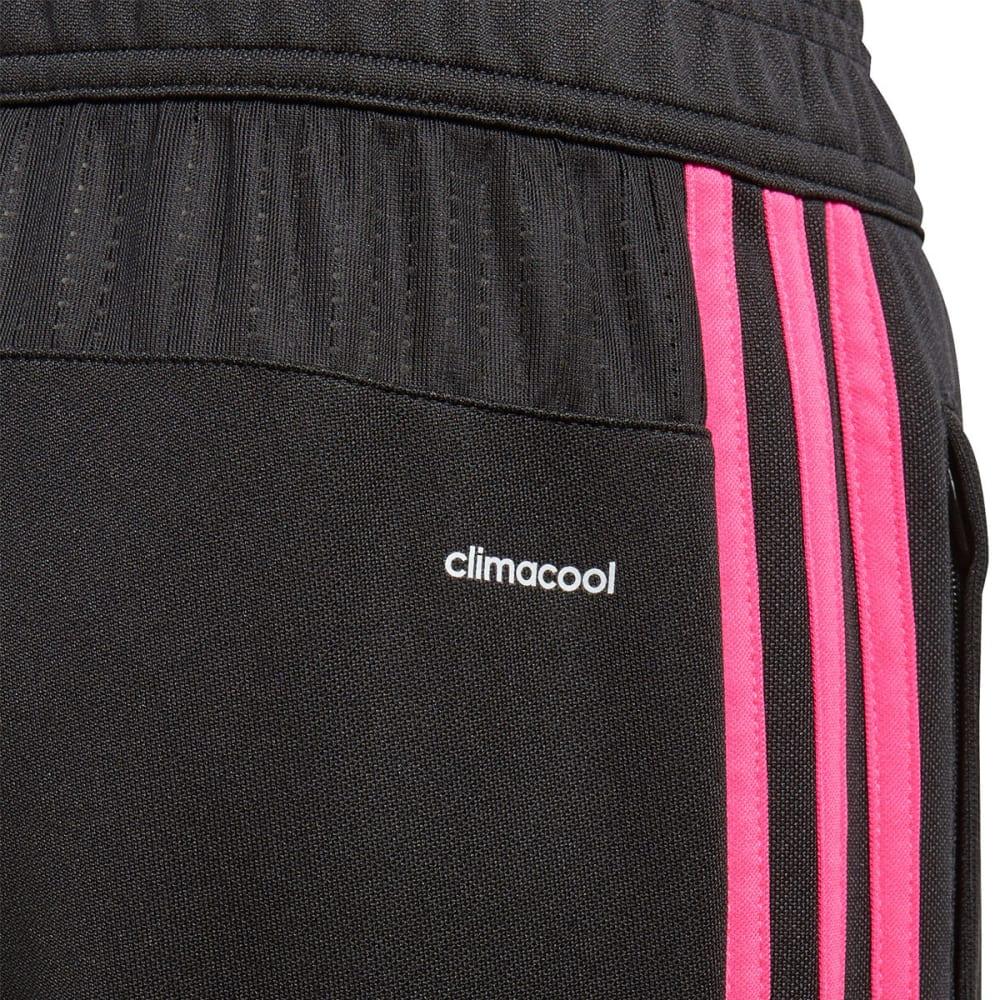 ADIDAS Big Girls' Tiro 17 Training Pants - BLACK/PINK-CF1149