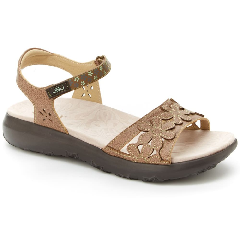 JBU BY JAMBU Women's Wildflower Sandals - ESPRESSO-JB18WIL54