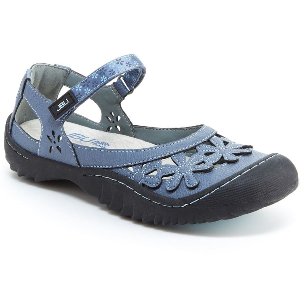 JBU BY JAMBU Women's Wildflower Sandals - DENIM-JB17WLD45