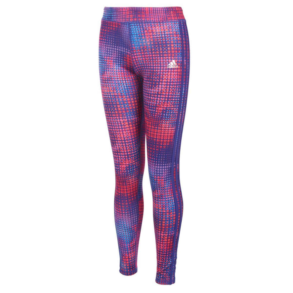 Adidas Girls Printed Tights - Various Patterns, 4