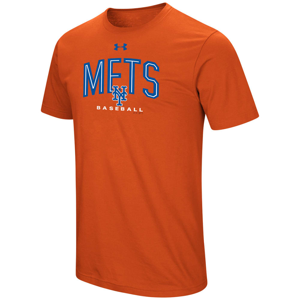 NEW YORK METS Men's UA Performance Arch Tee M