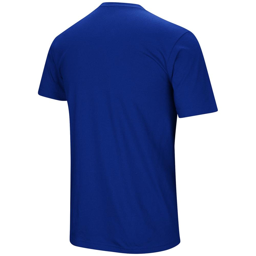 UNDER ARMOUR Men's New York Mets UA Performance Slash Short-Sleeve Tee - ROYAL BLUE