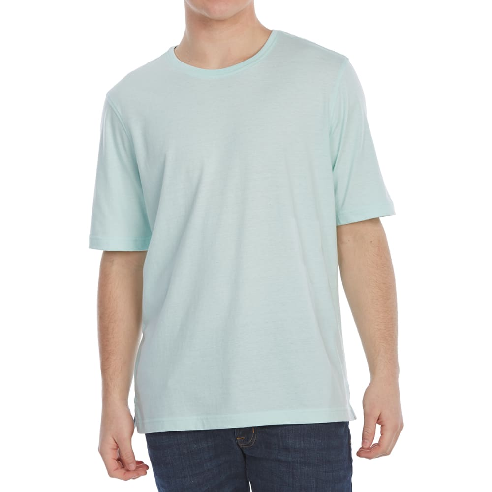 RUGGED TRAILS Men's Jersey Crewneck Short-Sleeve Tee M