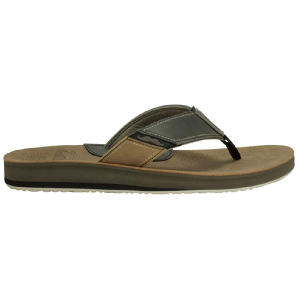 COBIAN Men's Movember Sandals - CLAY