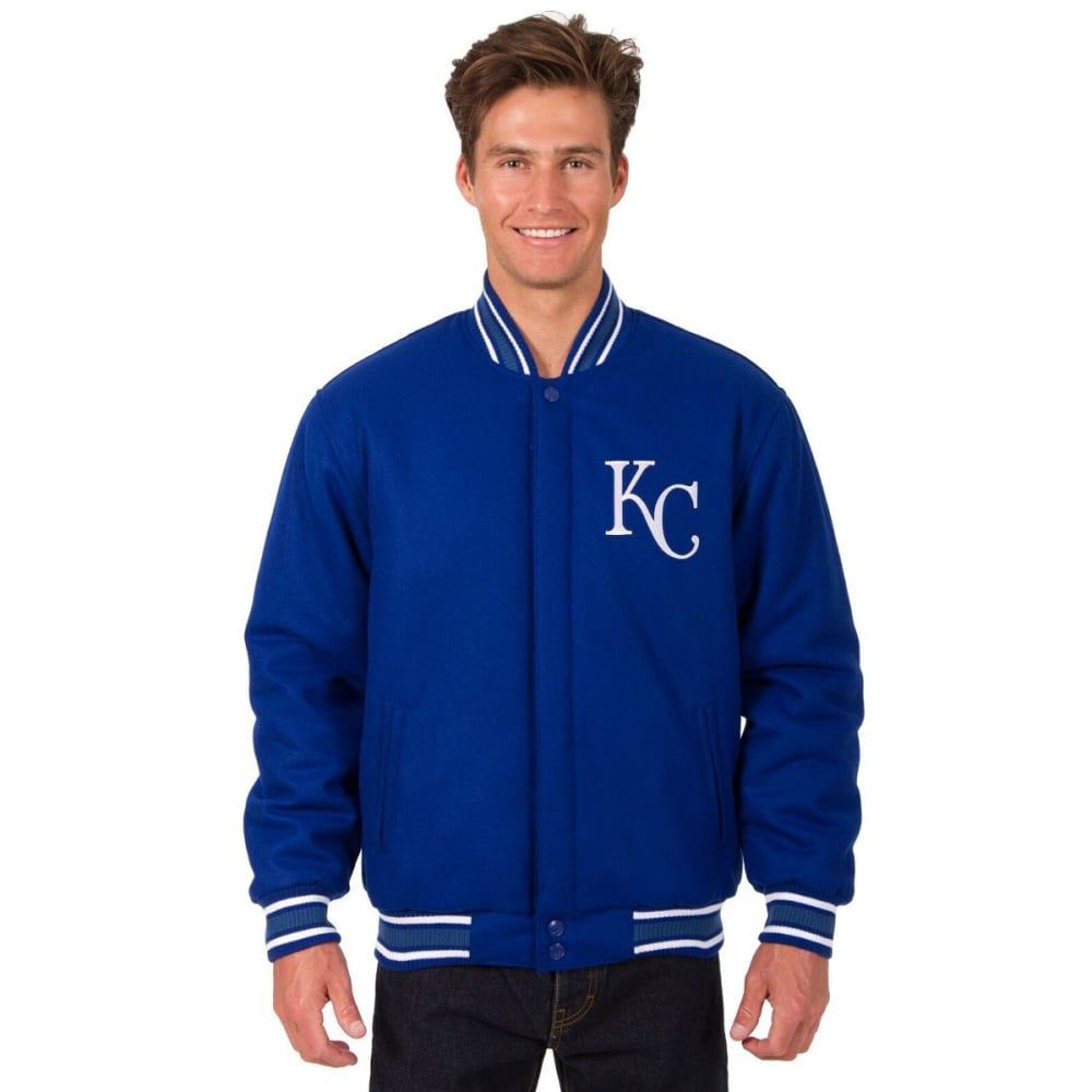 KANSAS CITY ROYALS Men's Reversible Wool Jacket - ROYAL