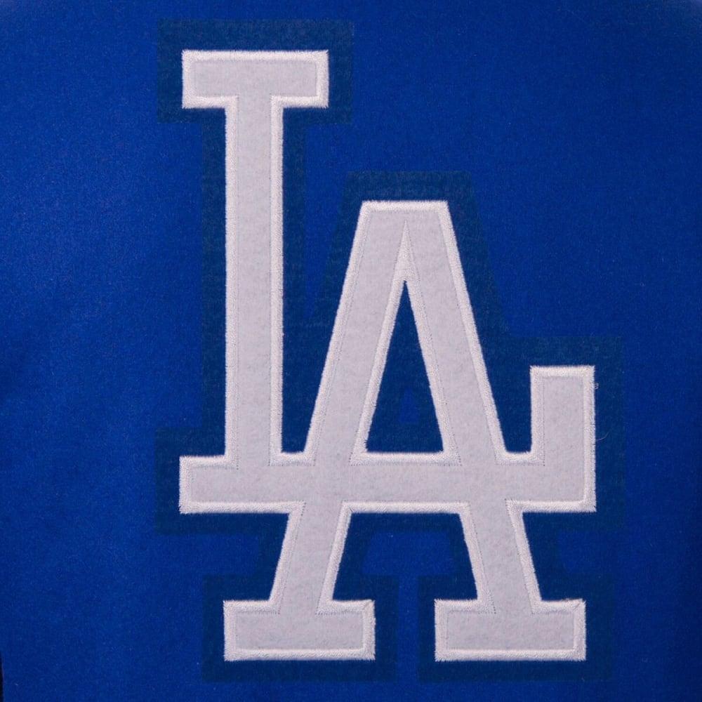 LOS ANGELES DODGERS Men's Reversible Wool Jacket - ROYAL