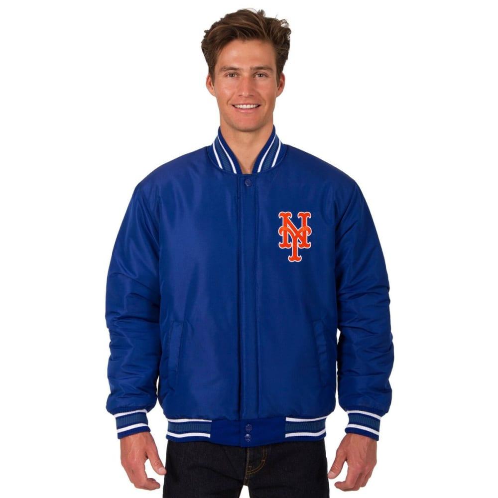 NEW YORK METS Men's Reversible Wool Jacket - ROYAL
