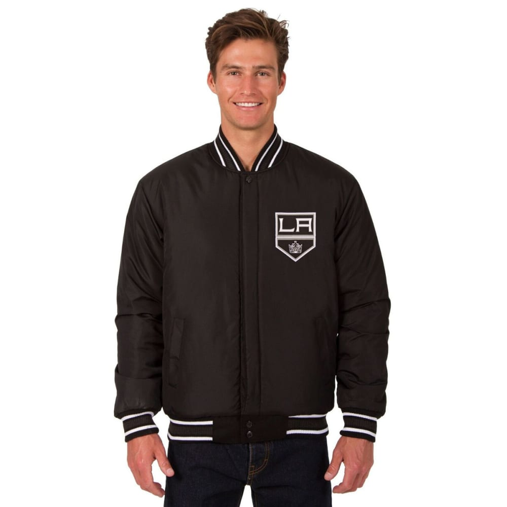 LOS ANGELES KINGS Men's Reversible Wool Jacket - BLACK