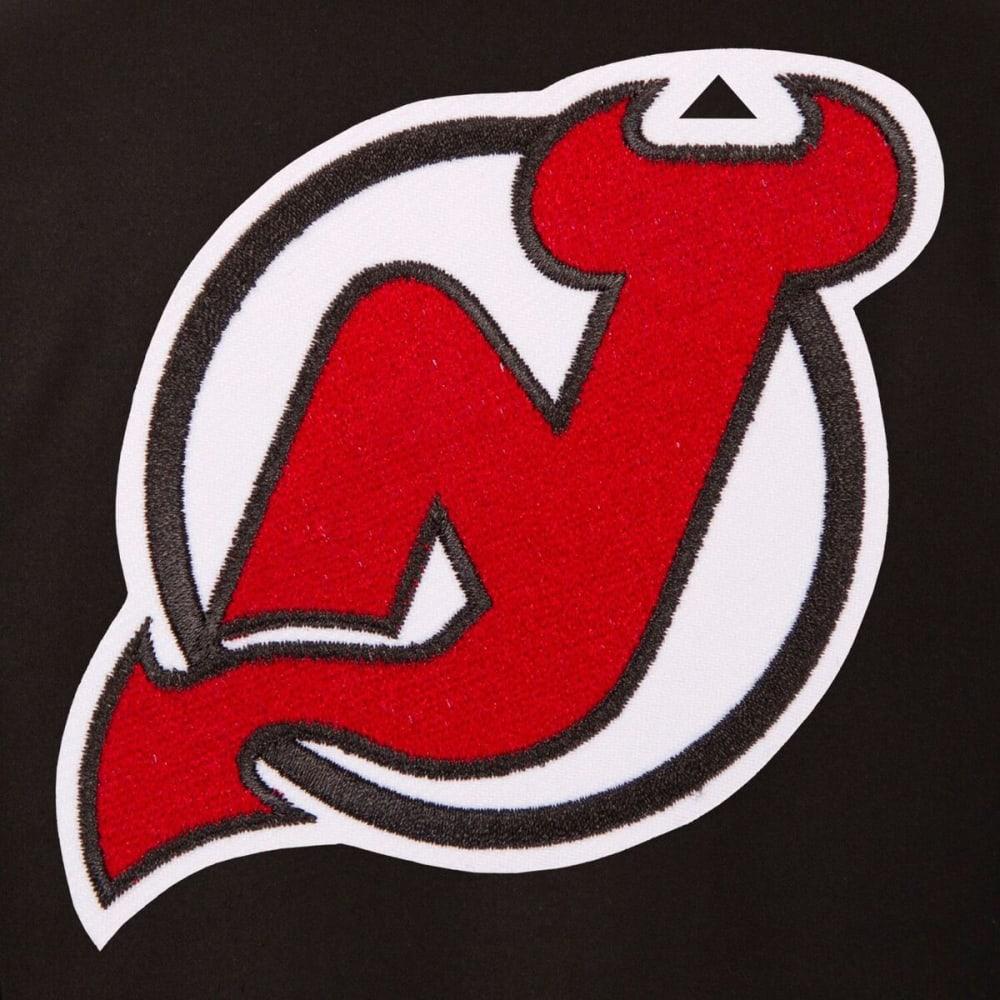 NEW JERSEY DEVILS Men's Reversible Wool Jacket - BLACK-RED