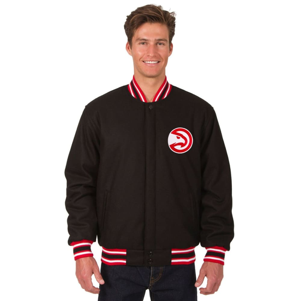 ATLANTA HAWKS Men's One Logo Reversible Wool Jacket S