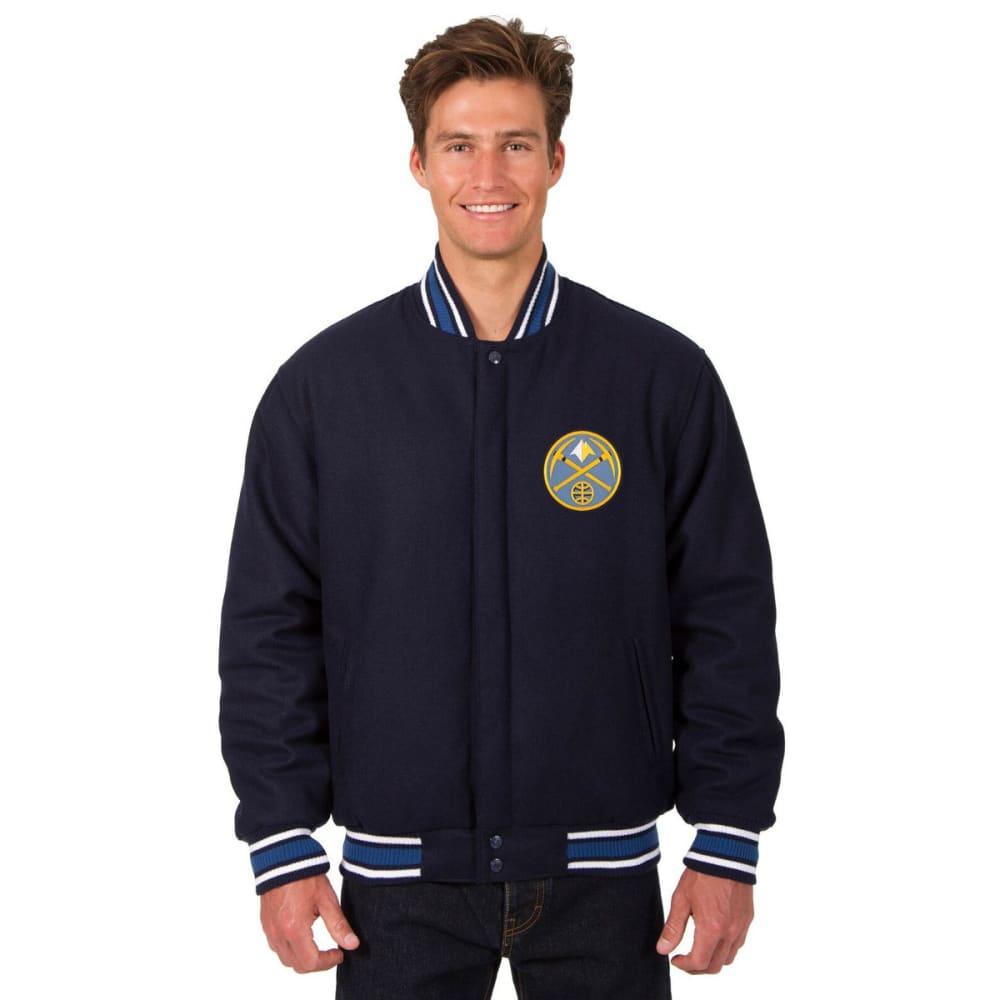 DENVER NUGGETS Men's One Logo Reversible Wool Jacket - NAVY