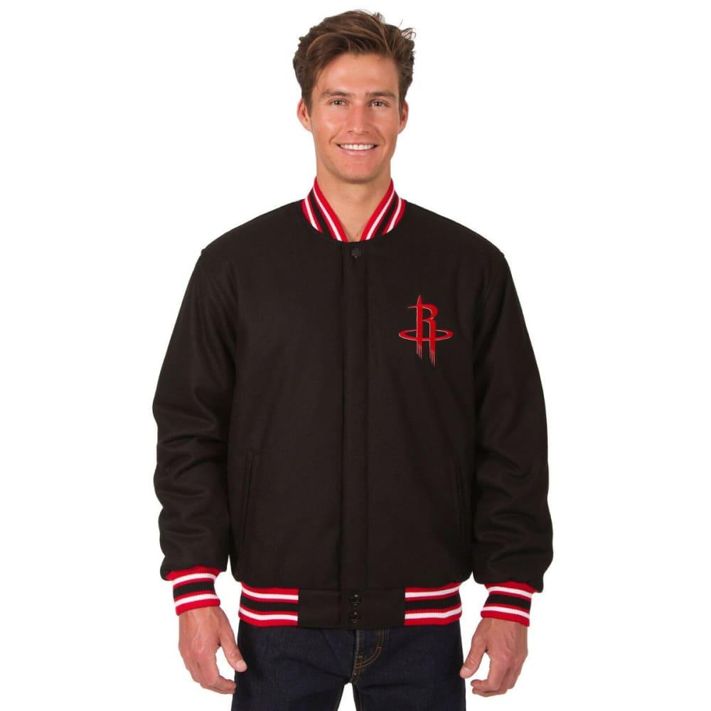 HOUSTON ROCKETS Men's One Logo Reversible Wool Jacket S