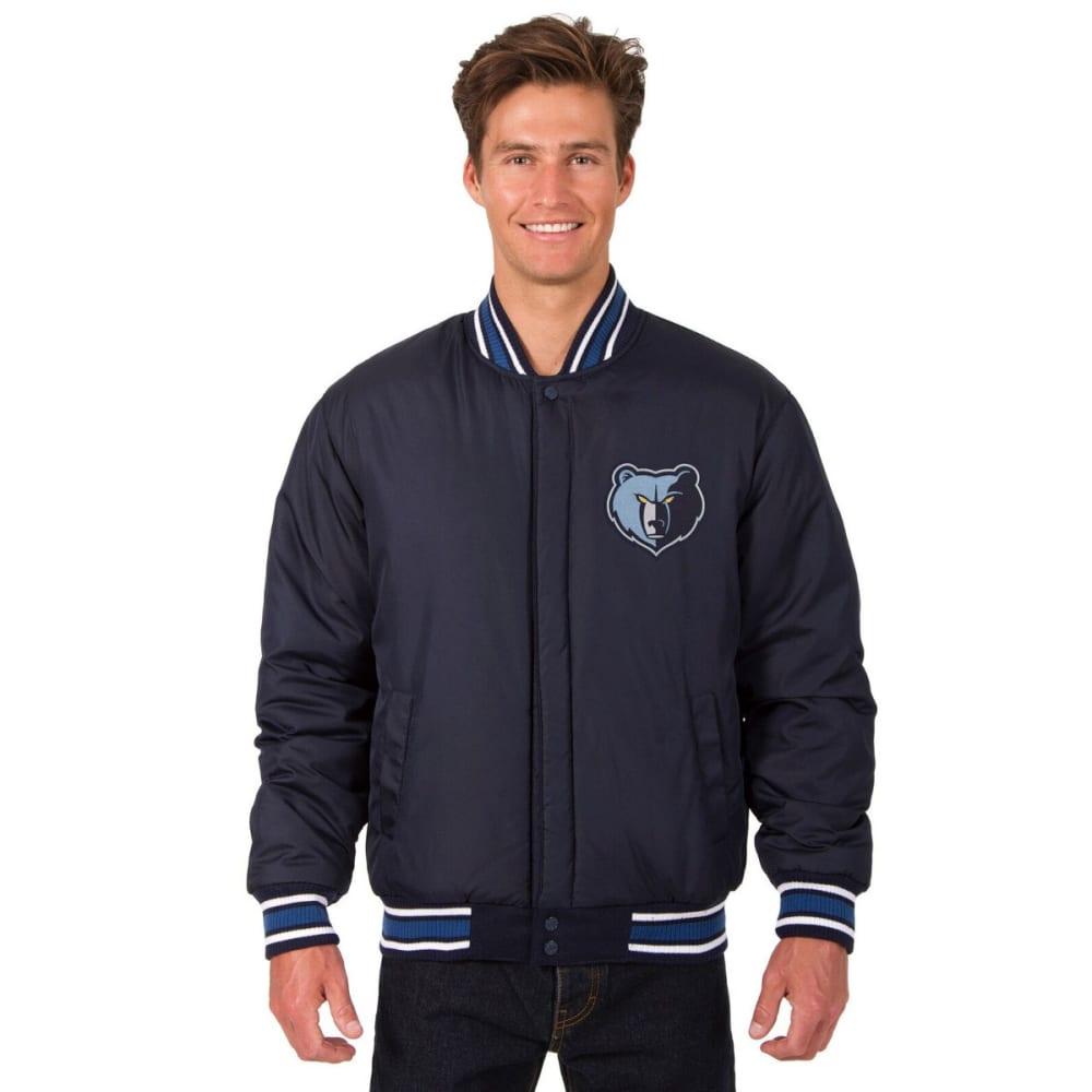 MEMPHIS GRIZZLIES Men's One Logo Reversible Wool Jacket - NAVY