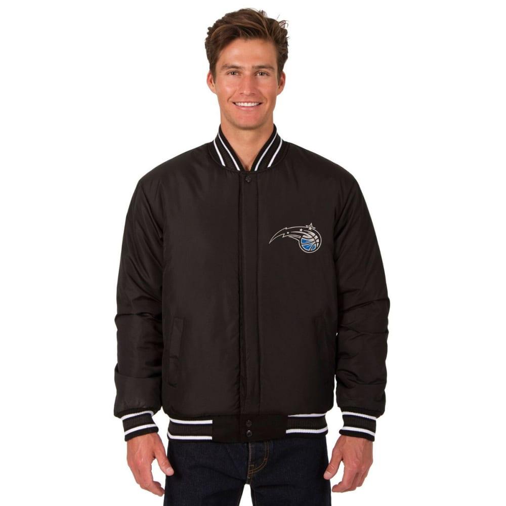 ORLANDO MAGIC Men's One Logo Reversible Wool Jacket - BLACK