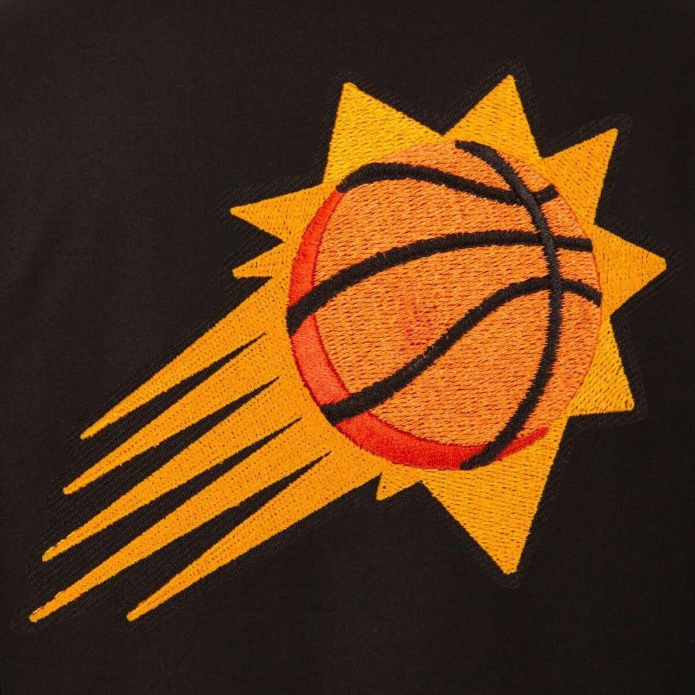 PHOENIX SUNS Men's One Logo Reversible Wool Jacket - BLACK