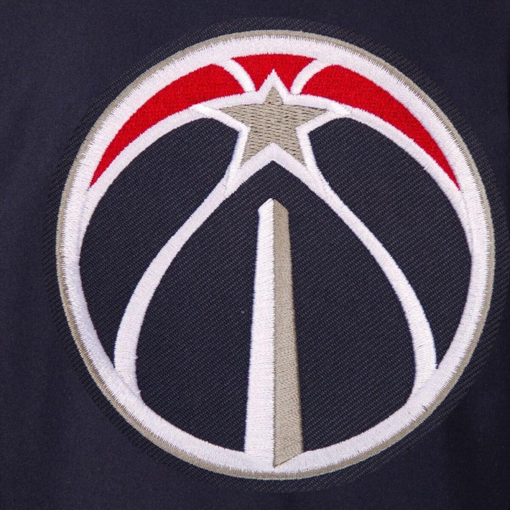 WASHINGTON WIZARDS Men's One Logo Reversible Wool Jacket - NAVY
