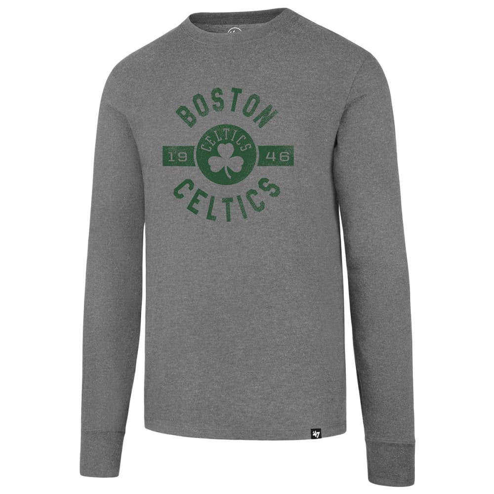 BOSTON CELTICS Men's '47 Club Long-Sleeve Tee - GREY
