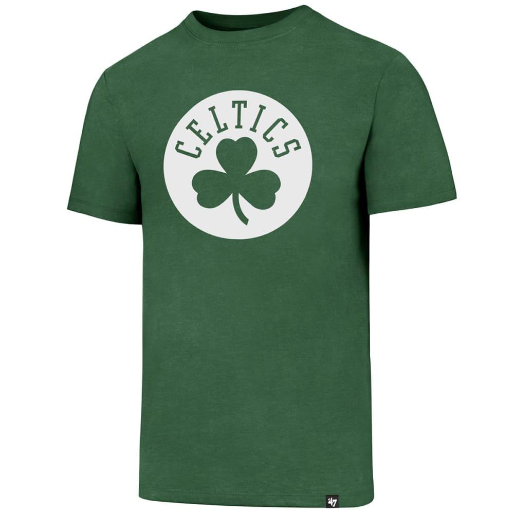 BOSTON CELTICS Men's Shamrock Logo '47 Club Short-Sleeve Tee - GREEN