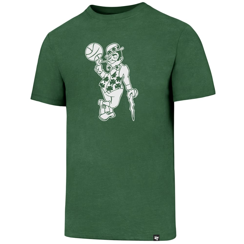BOSTON CELTICS Men's Logo Man '47 Club Short-Sleeve Tee - GREEN